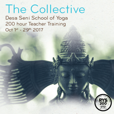 the collective yoga teacher training in bali