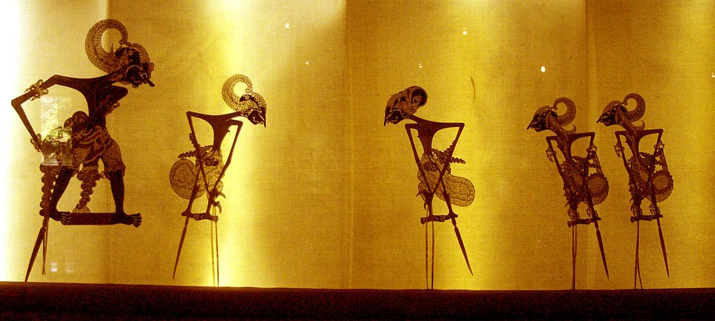 Light and Shadow in Asian Puppet Theater - Wayang_Pandawa