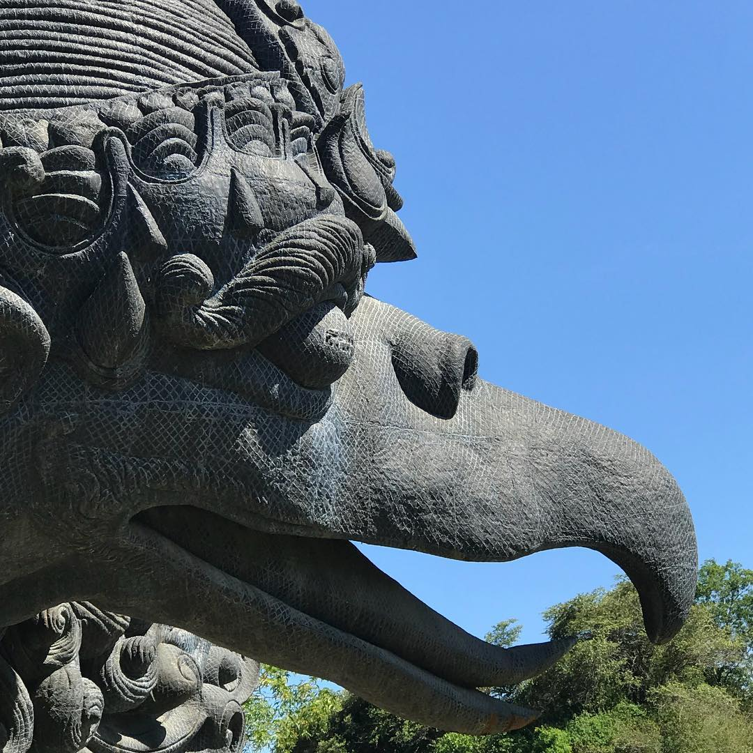 @desaseni_avillageresort - Garuda Wisnu Kencana culture center, Uluwatu! Worth a visit while in Bali!