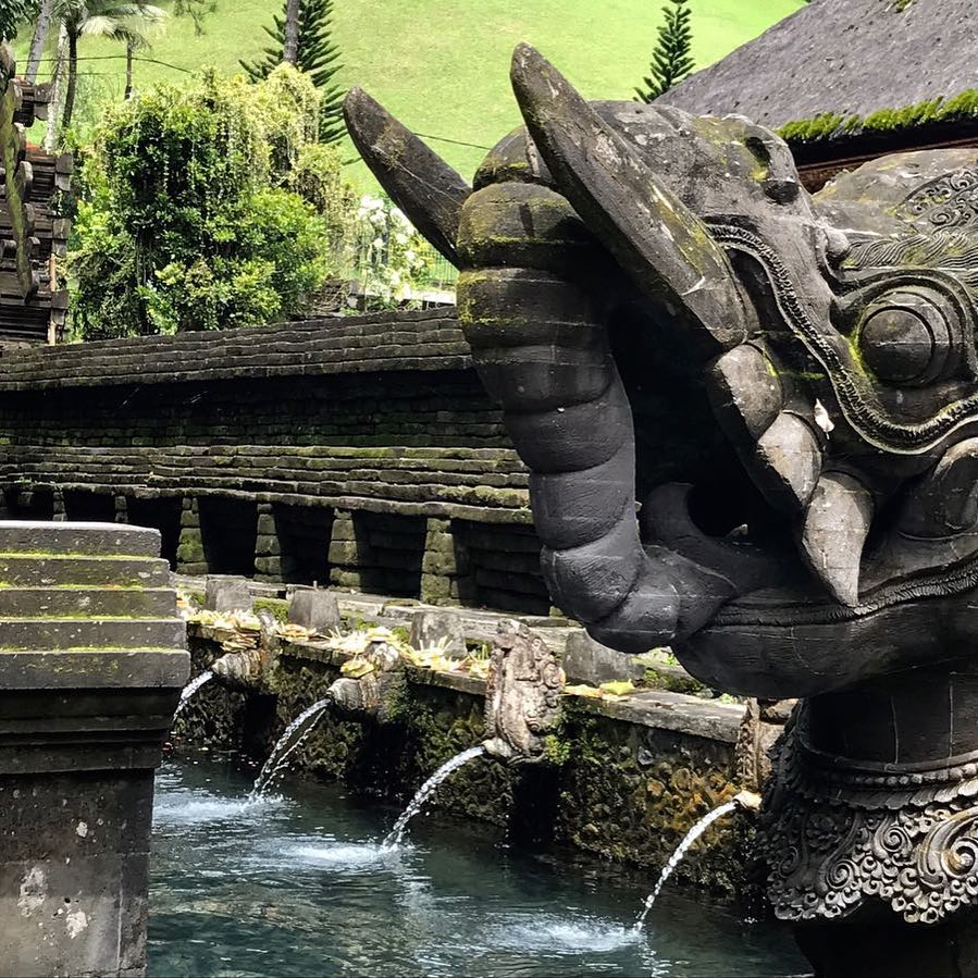 @desaseni_avillageresort - So many beautiful sights in Bali! Make sure you go out and appreciate the culture! Tirta Empul!