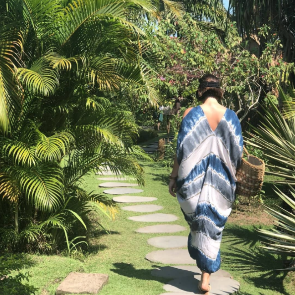 @katie_sargent_design - Walking away after a deliciously decadent massage session at @desaseni_avillageresort