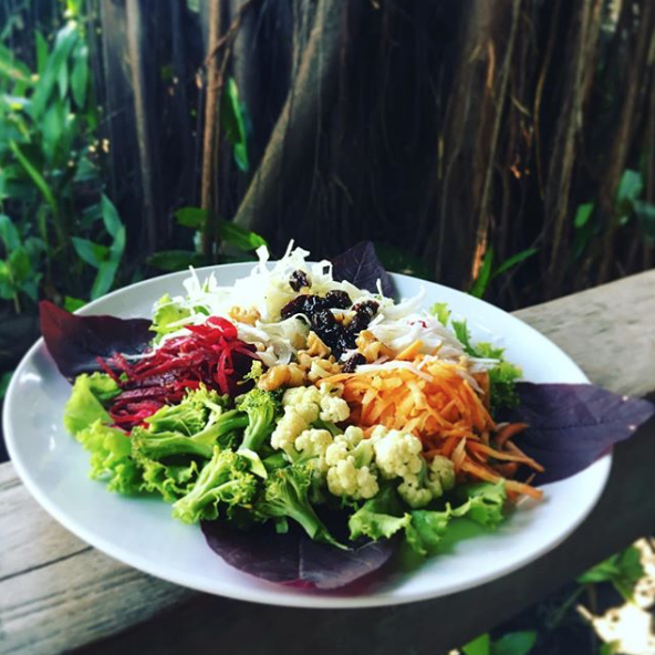 @newgreens - Raw Garden Salad @desaseni is an example & inspiration of how to eat everyday! #bali #canguu #desaseni