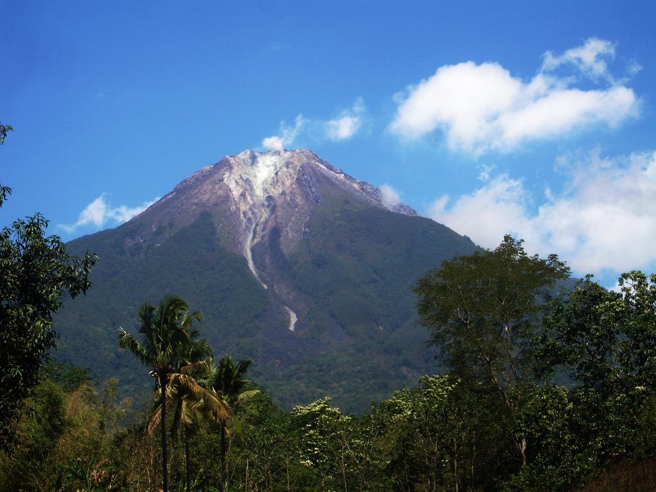 A lone peak